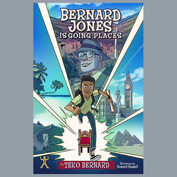 Bernard Jones Is Going Places
